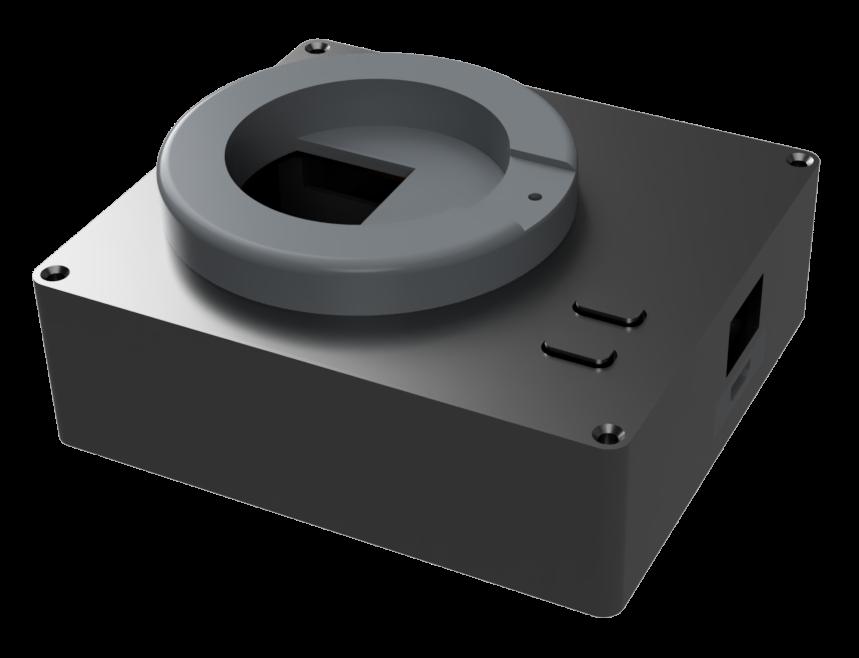 Render des Gehäuses nach dem  Hardware Update des portablen Signalhorn