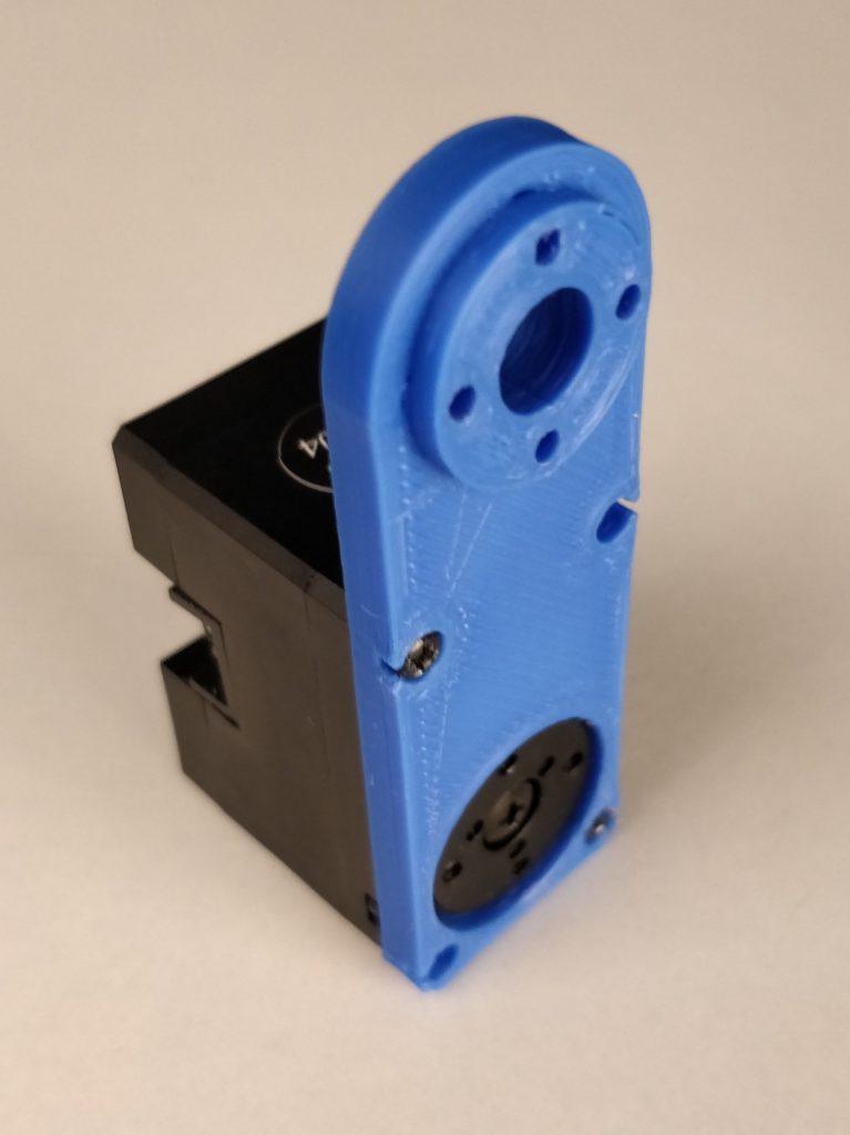 robo arm element with servo